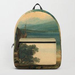 "J.M.W. Turner ""Lake Geneva and Mount Blanc"" Backpack"