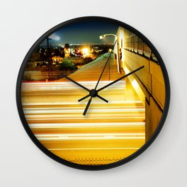 Fast Lane Wall Clock