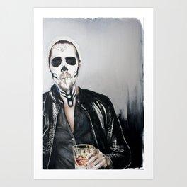 Sugar Skull, no.2 Art Print