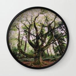 Forest Magic Wall Clock