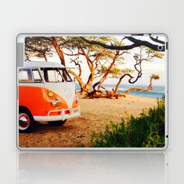 Van in the forest — Surf, Beach Laptop & iPad Skin