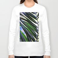 palm Long Sleeve T-shirts featuring palm by  Agostino Lo Coco