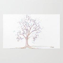 elven tree Rug