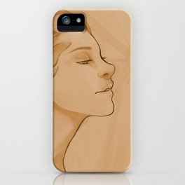 Goddess of Victory iPhone Case