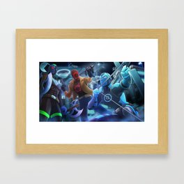 Splotch Comics Presents Framed Art Print