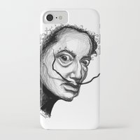 dali iPhone & iPod Cases featuring Dali by Robin Ewers