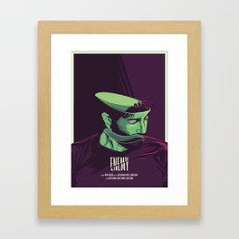 Enemy - Alternative movie poster Framed Art Print