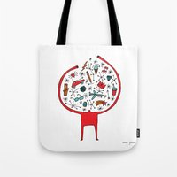holding it all together Tote Bag