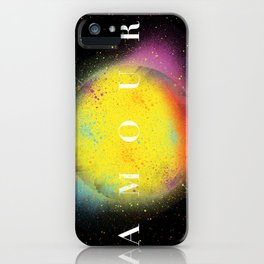 Space Love iPhone Case