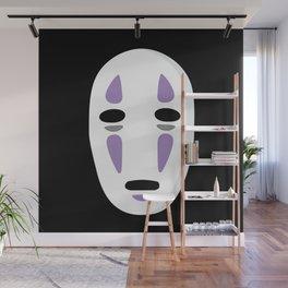 No Face Mask Wall Mural