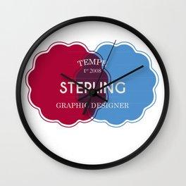 Designer Shirt Wall Clock