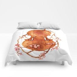 Sakura Violin Comforters