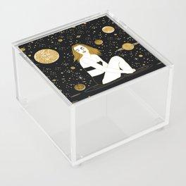 meteor shower Acrylic Box