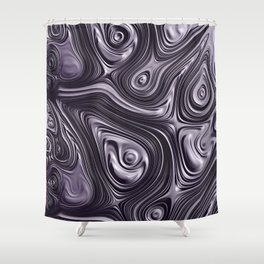 Metal Melt Shower Curtain