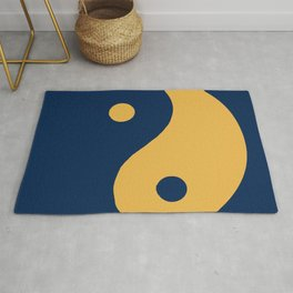 The yin and the yang, the balance of the opposites  Rug