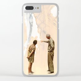 Watching Paint Dry Clear iPhone Case
