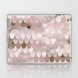 SUMMER MERMAID NUDE ROSEGOLD by Monika Strigel Laptop & iPad Skin
