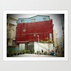 Kokusai Street Art Print