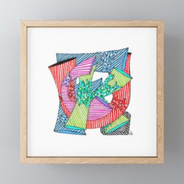 Beautiful F Word Framed Mini Art Print
