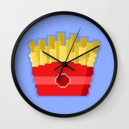 Pixel Fries Wall Clock