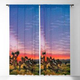 Sunset at Joshua Tree National Park, California, USA Blackout Curtain