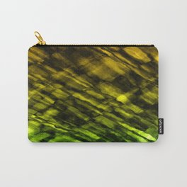 Rock Pool in Green and Gold Carry-All Pouch