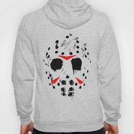 Classic Horror Movie mask of Jason Voorhees  Hoody