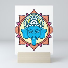 The Supreme Lord Ganesha Mini Art Print