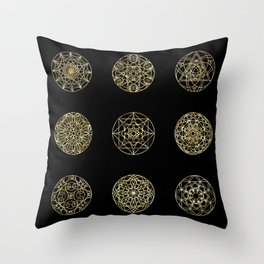 Sacred geometry - Melt It And Make Yourself A Tooth Throw Pillow