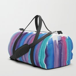 Brushed Watercolor Duffle Bag
