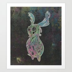 Spacebun Art Print