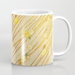 Creeping Flower & Leaves Coffee Mug