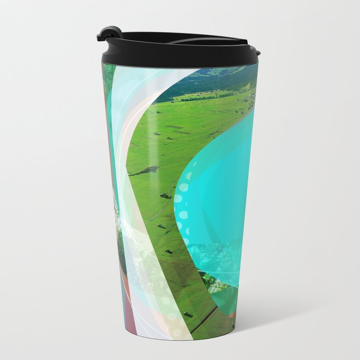 the abstract dream 2 Metal Travel Mug