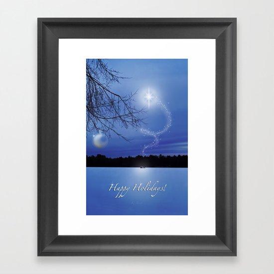 Christmas Eve - Card Framed Art Print
