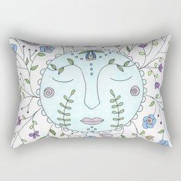 Chanson de la lune bleue Rectangular Pillow