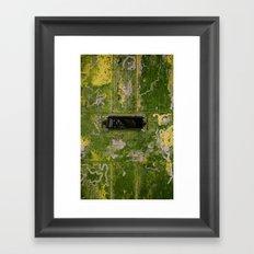 UNANSWERED Framed Art Print
