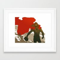 thor Framed Art Prints featuring Thor by Pulvis