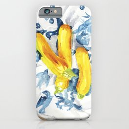 Trio of Yellow Squash iPhone Case
