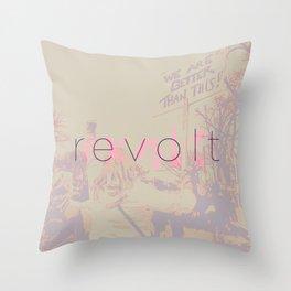 Revolt / Exalt Throw Pillow