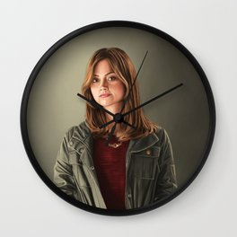 The Impossible Girl Wall Clock