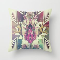 Tiger Chaman  Throw Pillow