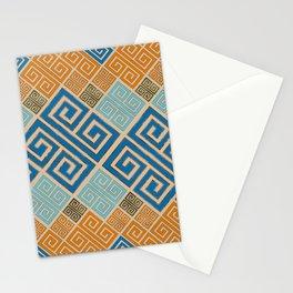 Meander Pattern - Greek Key Ornament #7 Stationery Cards