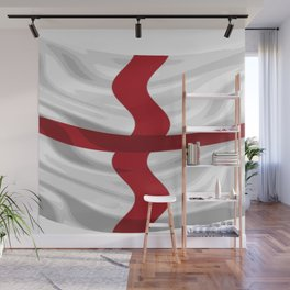 Flag Of England St George Cross Wall Mural