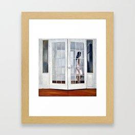 Door Framed Art Print