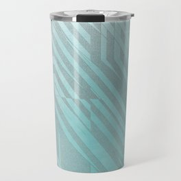 blue centre Travel Mug