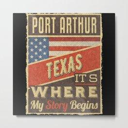 Port Arthur Texas Metal Print