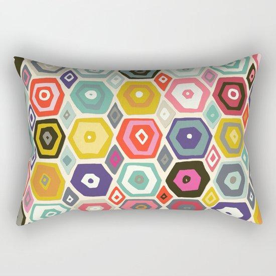 hex summer Rectangular Pillow