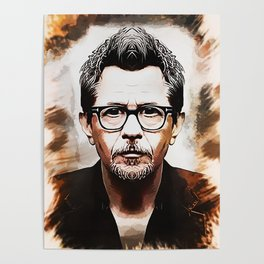 Gary Oldman - Caricature Poster