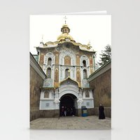 ukraine Stationery Cards featuring Kiev, Ukraine by Love Crosses Oceans Smith Family