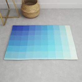 Urmahlullu - Blue Decorative Abstract Art Pattern Rug
